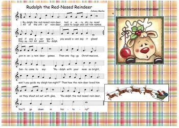 christmas song rudolph the red nosed reindeer - Christmas Songs Rudolph The Red Nosed Reindeer