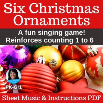 Christmas Song Singing Game Prek 1 Pdf With Sheet Music Instructions