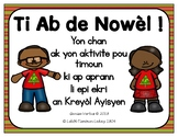 O Christmas Tree Song and Writing Activity in Haitian Creole (Haiti)