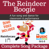 Christmas Song & Dance | Reindeer Song | Holiday | mp3s, P