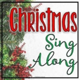 Holiday Songs Sing Along (A Christmas Carol PowerPoint Pre