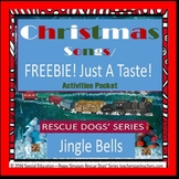 Christmas Songs FREEBIE - Just A Taste!  Jingle Bells SPED/ID/ESL/SLD/Autism