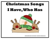 Christmas Songs I Have, Who Has? (Harder Version)