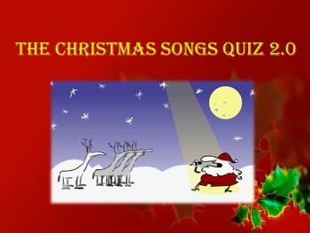 Christmas Songs Quiz 2.0