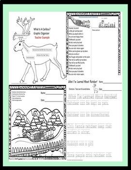 Christmas Songs, Reader's Theatre, Reindeer Versus Caribou & Activities SPED/ELD