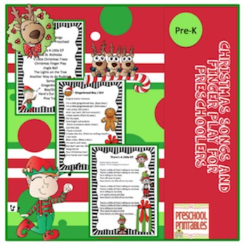 Christmas Songs and Finger Play for Preschoolers