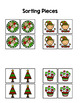 Christmas Sort by Picture File Folder Game for students wi