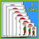 Christmas Sort by Size - A Christmas Math Center for Early