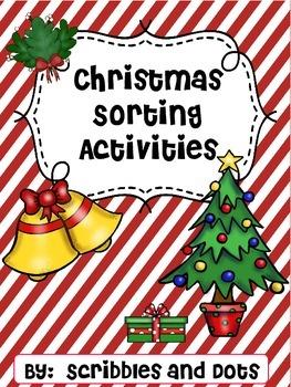 Christmas Sorting Activities