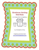 Christmas Sorting Activities and Graphing for Kindergarteners