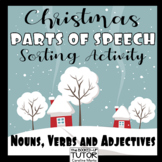 {Parts of Speech Sort} {Christmas parts of speech} {Christmas grammar}