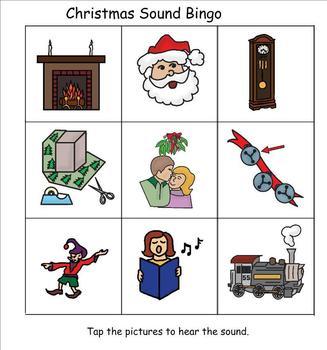 Christmas Bingo with Sounds