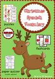 Christmas Spanish Vocabulary Activities