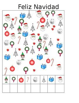 Christmas Spanish class, activities para la Navidad