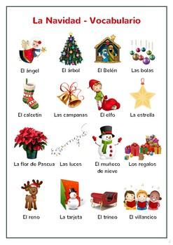 Christmas (Spanish unit) / Navidad / Navidades - Juegos y actividades
