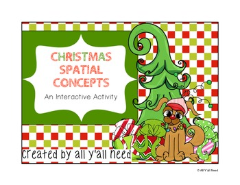 Christmas Spatial Concepts: An Interactive Activity