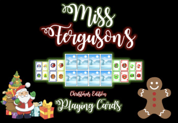 Christmas Special Edition Playing Cards