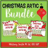 Christmas Speech Articulation Cards Bundle