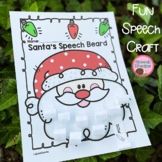 Christmas speech and language activities | speech therapy