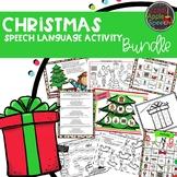 Christmas Speech Language Activities Bundle