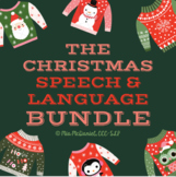 Christmas Speech & Language BUNDLE