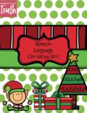 No-Prep Christmas Speech-Language Bundle