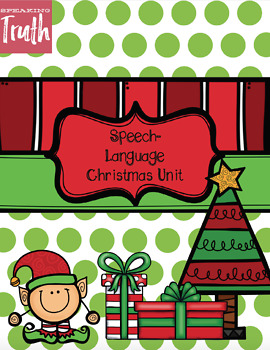 No-Prep Christmas Speech-Language Bundle