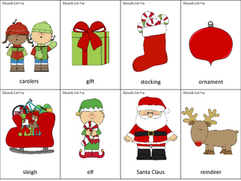 Speech and Language Therapy Pack: Christmas