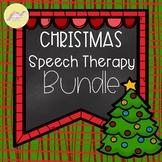 Christmas Speech Therapy Bundle