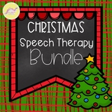 #Dec2018SLPMustHave Christmas Speech Therapy Bundle