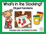 Christmas Speech Therapy: Object Functions