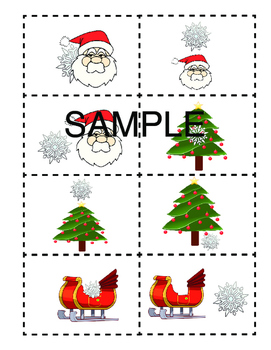 Christmas Speech Therapy Variety Pack