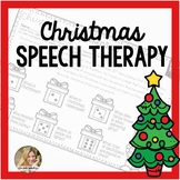 Christmas Speech Therapy | Speech and Language No Prep