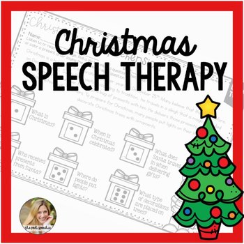 Christmas Speech Therapy