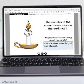 Christmas Speech and Language Activities No Print Interactive PDF