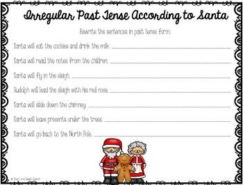 Christmas Language Activities