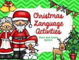 Christmas Language Activities
