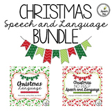 Christmas Speech and Language Bundle
