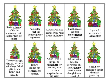 Christmas Speech and Language Packet
