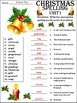 Christmas Activities: Christmas Spelling Language Arts Activity Packet
