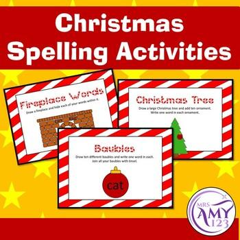 Christmas Spelling Activities