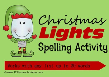Christmas Spelling Activity