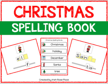 Christmas Spelling Books (Adapted Book)