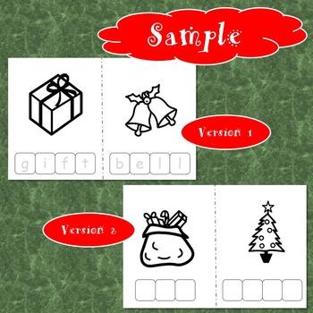 Christmas Spelling FREEBIE