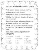 Christmas Spelling List