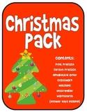 Christmas Spelling Words Pack - Older Kids