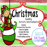Christmas Spelling Worksheets