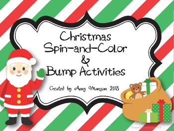 Christmas Spin and Color and Bump!