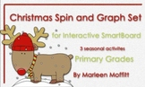 Christmas Spin and Graph Set for Interactive SmartBoard (N