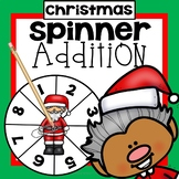 Christmas Addition Game First Grade